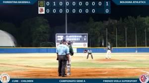 Gli Athletics Bologna trasmessi in diretta WebTV sul  Canale Youtube della Fiorentina Baseball