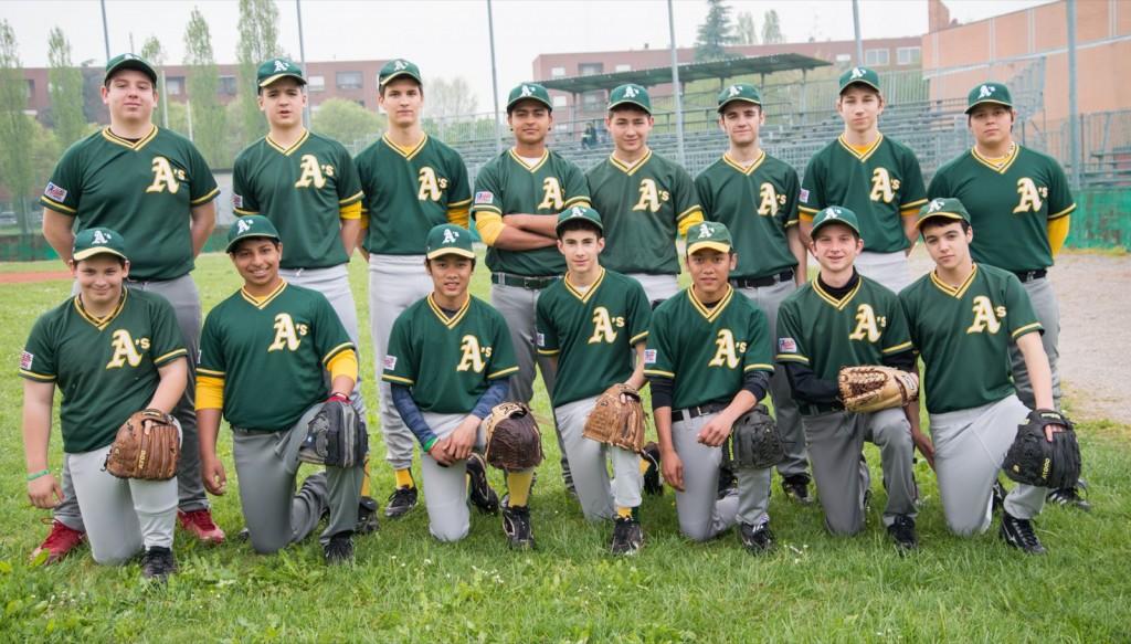 La squadra Cadetti 2013